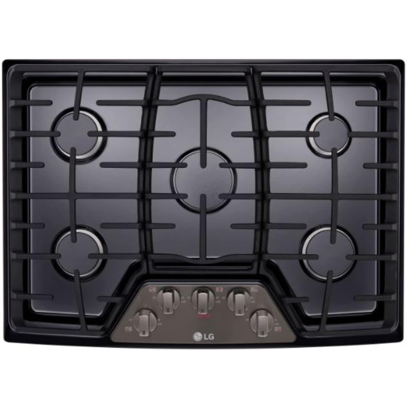 Lcg3011bd By Lg Natural Gas Cooktops Goedekers Com Gas