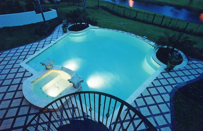 Rectangle Pool Designs Orlando Pools By Design Pool House Design #Pools