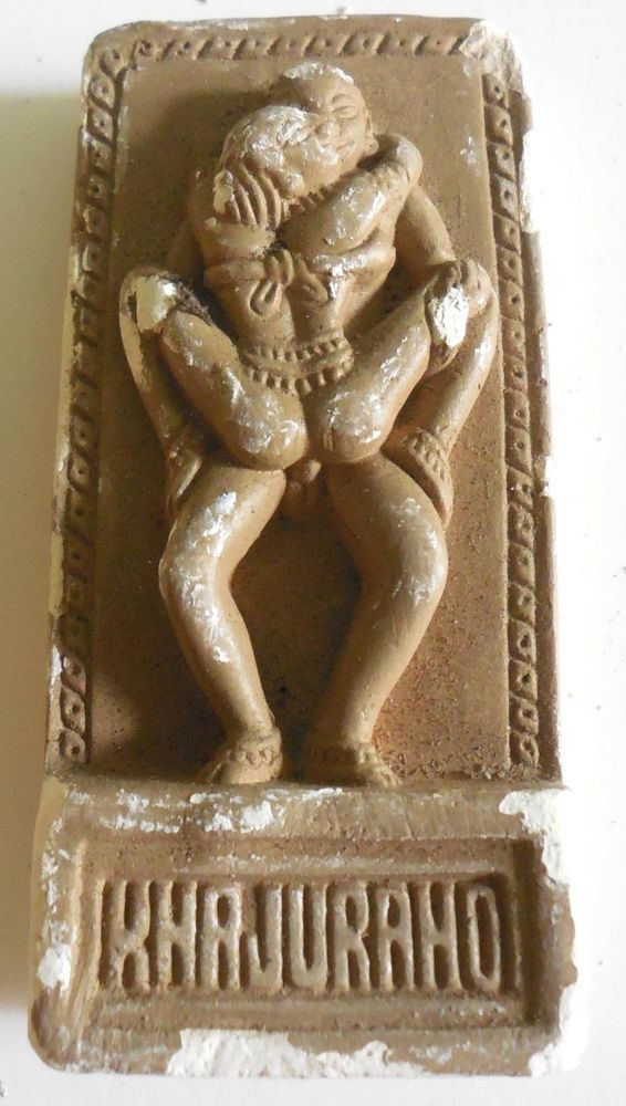 sculptues erotic indian brass