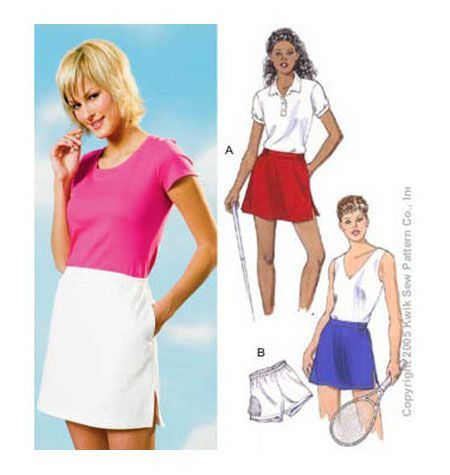 Skort And Shorts Sewing Patterns Sewing Patterns Pinterest New Skort Pattern
