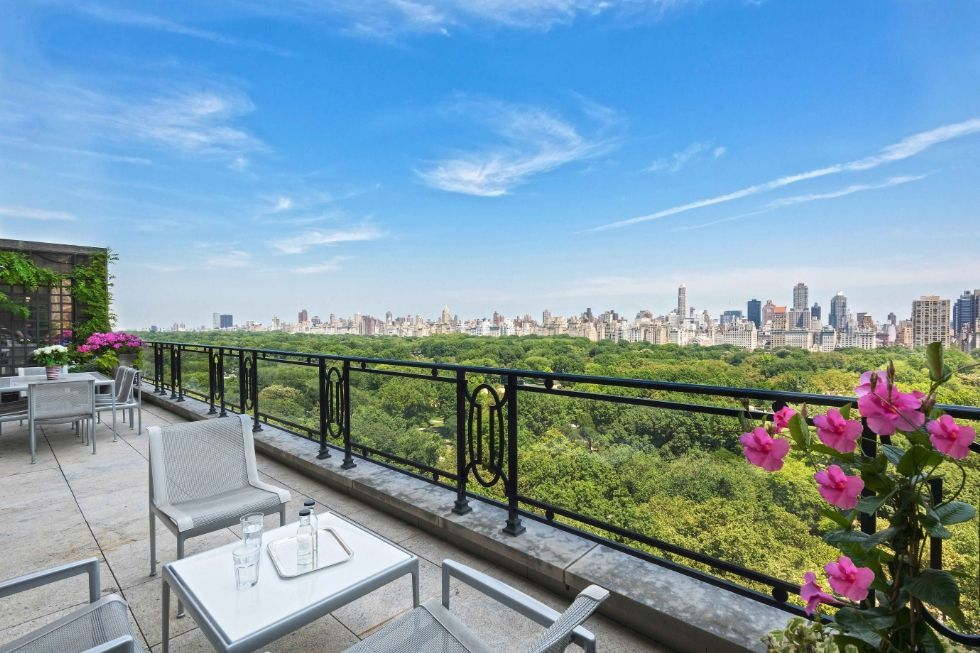 Now that's a view we can live with, Central Park, New York