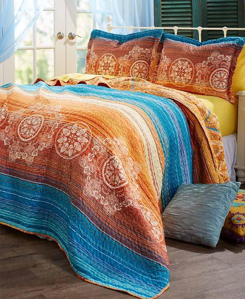 Eclectic Bedroom Bedding Blankets