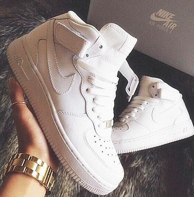NIKE Girls Males Operating Sport Informal Sneakers Sneakers Heudauo excessive tops WHITE sneakers #nikefreeoutfit