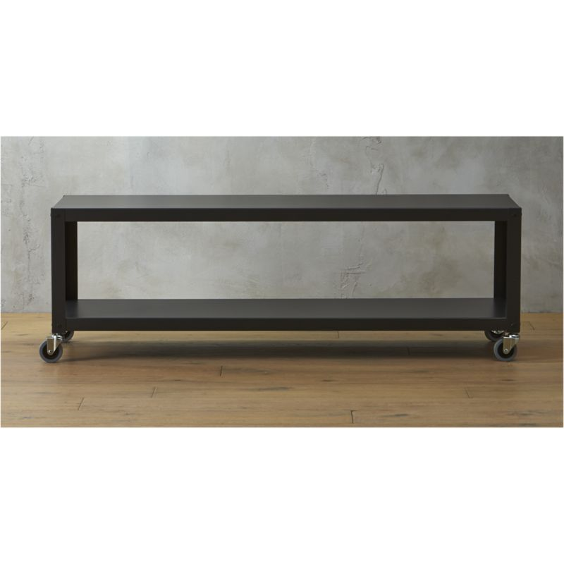 Go Cart Carbon Rolling Tv Stand/coffee Table
