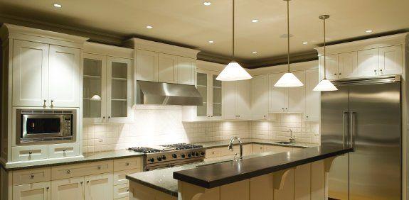 diseño iluminacion cocina - Buscar con Google | Cocinas | Pinterest ...