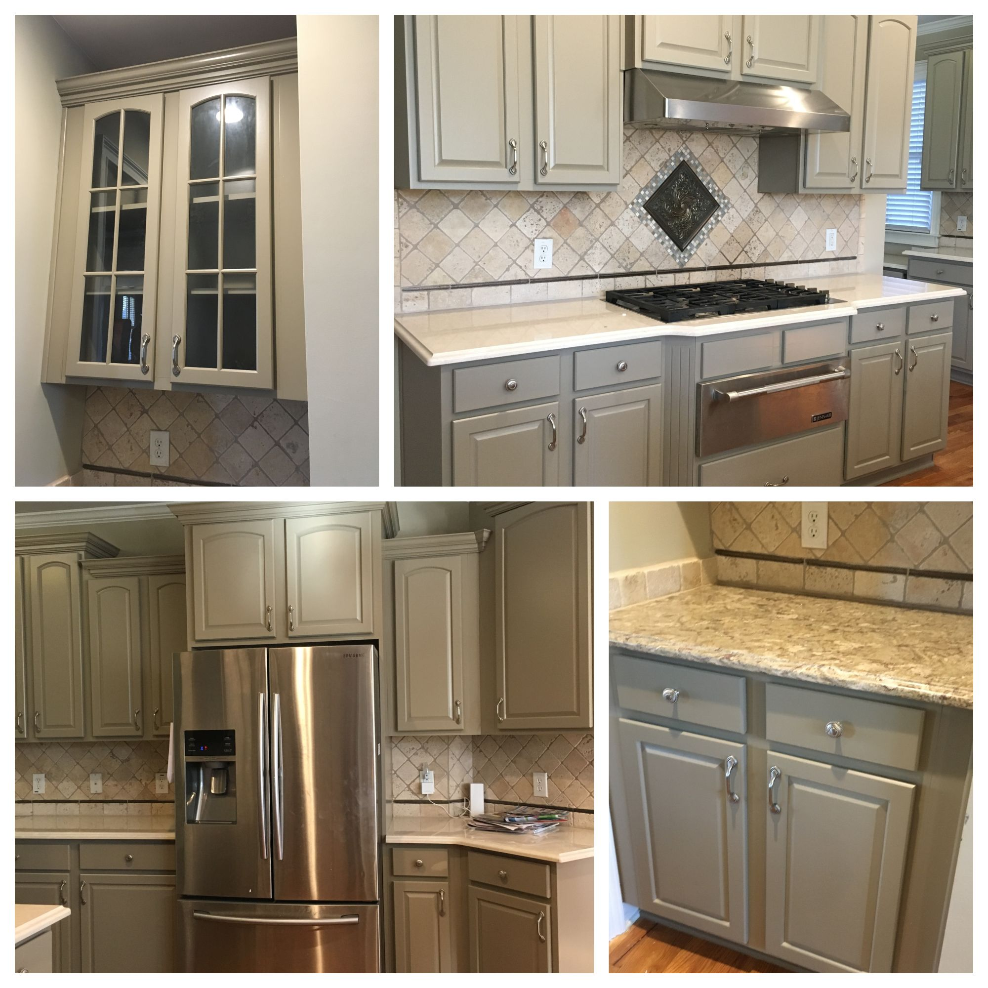Moths In Kitchen Cabinets: After Cabinets. Sherwin Williams Emerald Urethane SW 9174