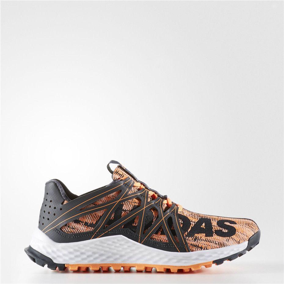 6daa9101c04ba Adidas Vigor Bounce Shoes (Grey   Glow Orange   Running White ...