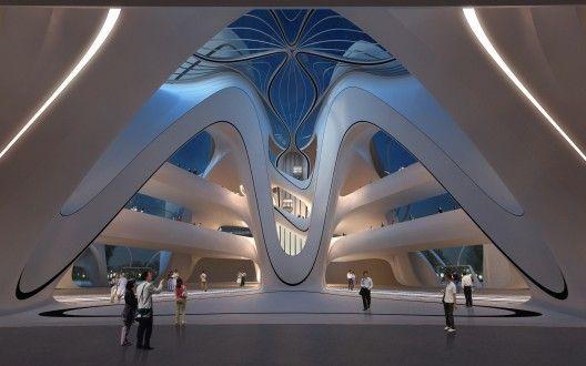 Le Projet Titanesque De Zaha Hadid Architects En Chine Zaha