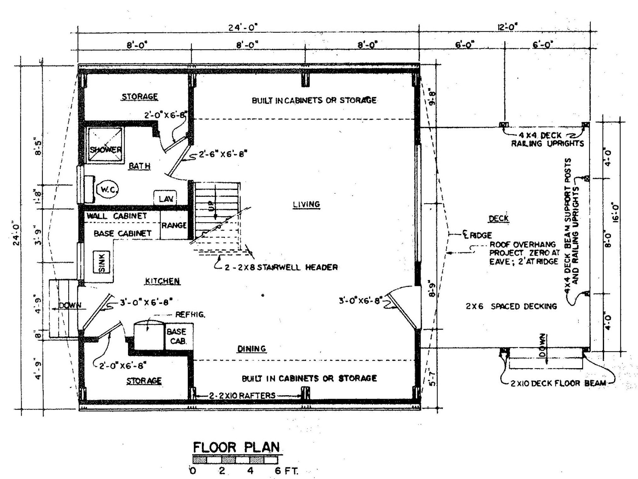 Floor Plan Design Of A Frame Home Casas En Pendiente Casas Departamentos