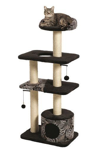 Feline Nuvo Tower Cat Tree Furniture, 22 by 15 by 50.5-Inch, http://www.amazon.com/dp/B0051O3DTU/ref=cm_sw_r_pi_awdm_4q3Dtb0KPEFQQ