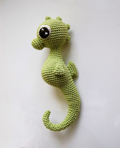 Charly Seahorse Amigurumi Free Pattern Seepferdchen Crochet