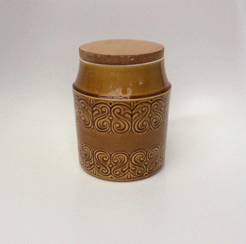 Retro Kitchen Storage Jars Reserved For Geraldine Vintage Kitchen Storage Jar Shannon Pottery