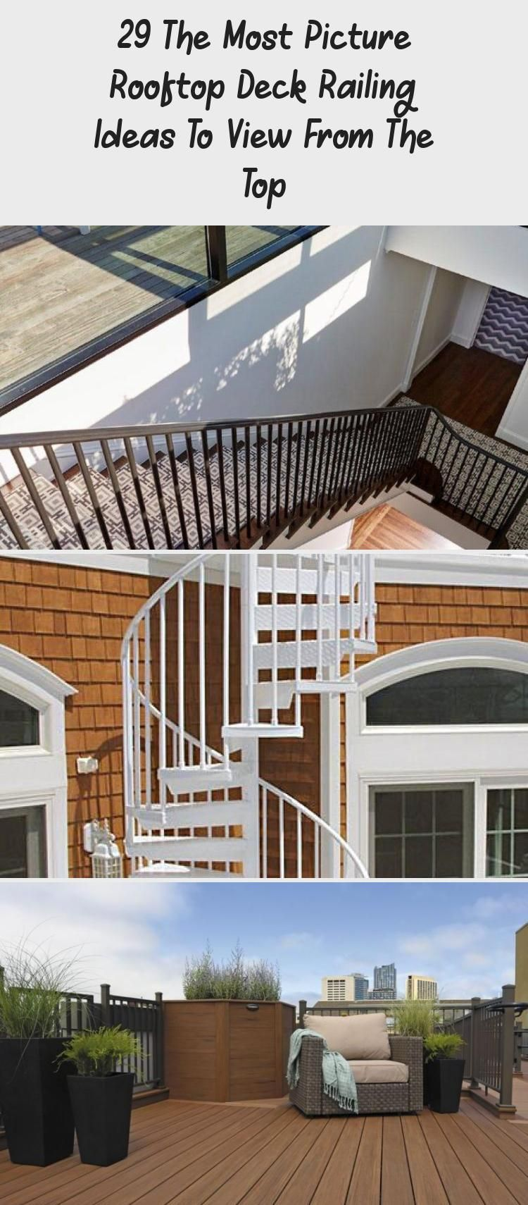 29 The Most Picture Rooftop Deck Railing Ideas To View ...