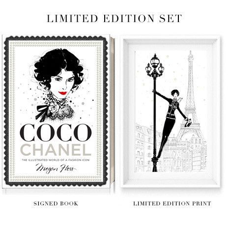 Coco Chanel: The Illustrated Life of a Fashion Icon Set