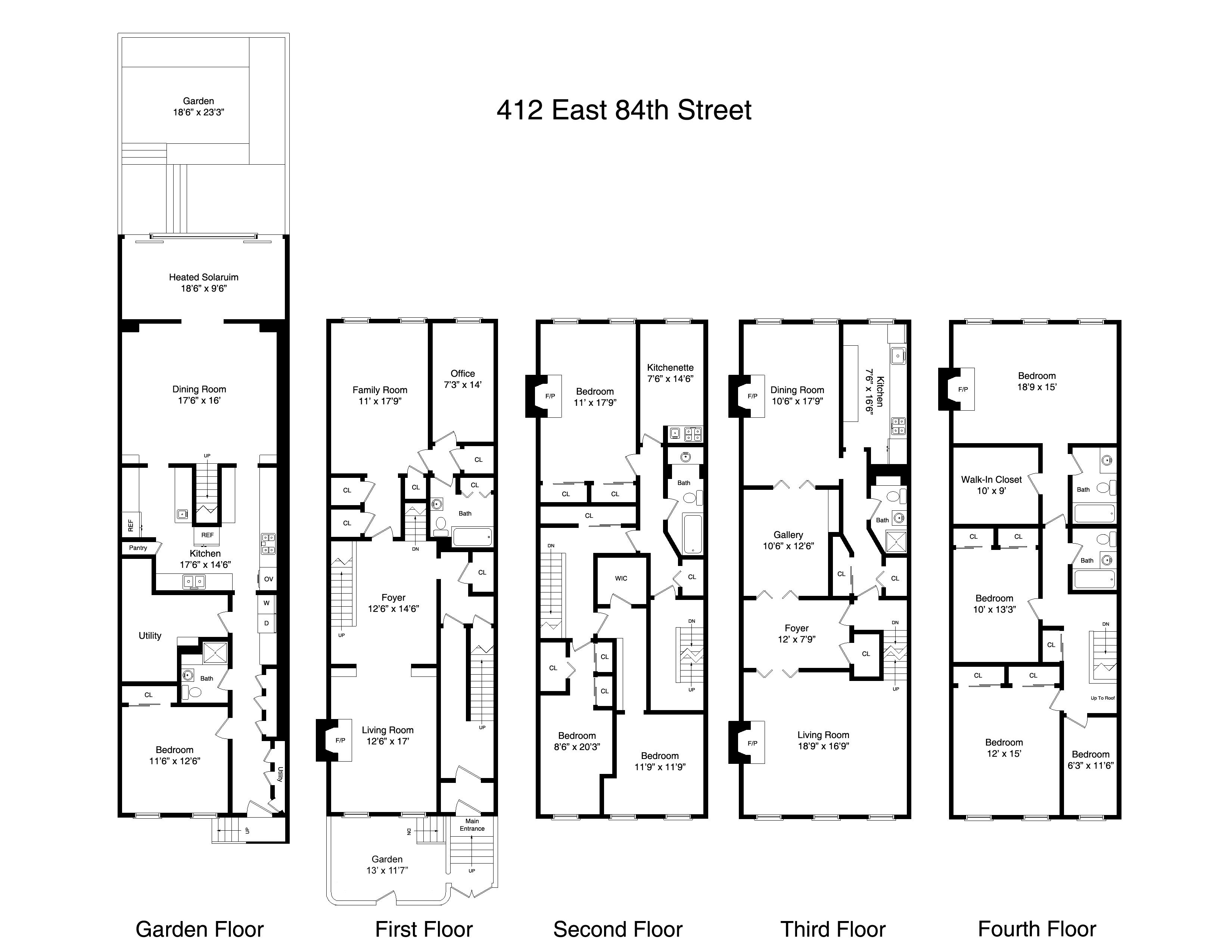 Homely Design 12 New York Home Plans Style House Floor Plans New York Brownstone How To Plan