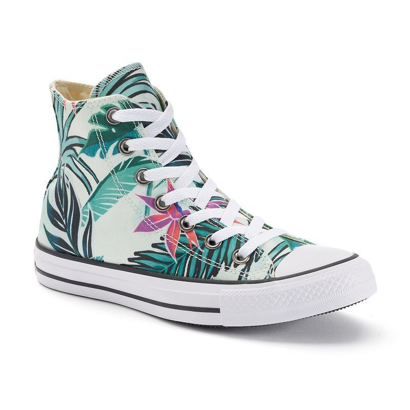 d88eb7a0483c Adult Converse Chuck Taylor All Star Tropical Print High-Top Sneakers
