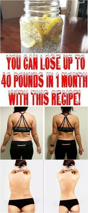 YOU CAN LOSE UP TO 40 POUNDS IN 1 MONTH WITH THIS RECIPE ...