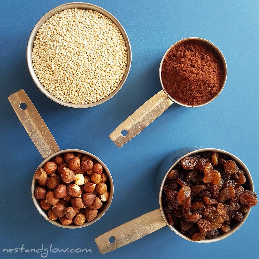 Quinoa Chocolate Brownie 4 Ingredients Recipe