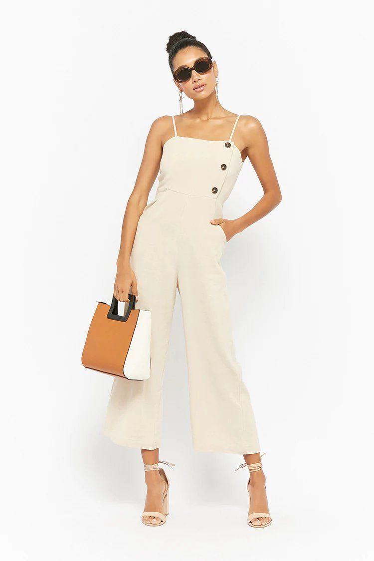 7e83a4dafe86 Product Name Wide-Leg Cami Jumpsuit