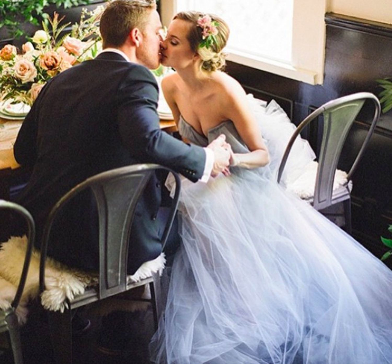 Best wedding dresses for registry office  Wedding Blues Baby Blue Wedding Dresses That Might Make You Forget