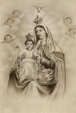 regina decor carmeli an italian image of our lady of mount carmel religious images. Black Bedroom Furniture Sets. Home Design Ideas