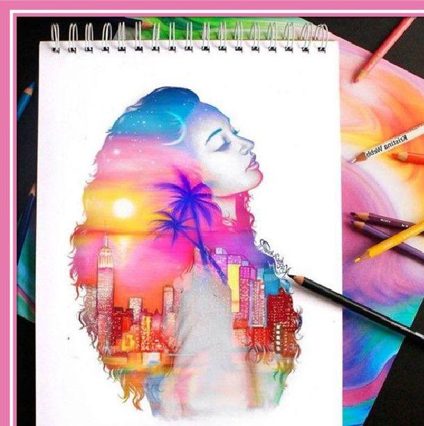 Resultado De Imagen Para Imagenes De Dibujos A Lapiz Con Color