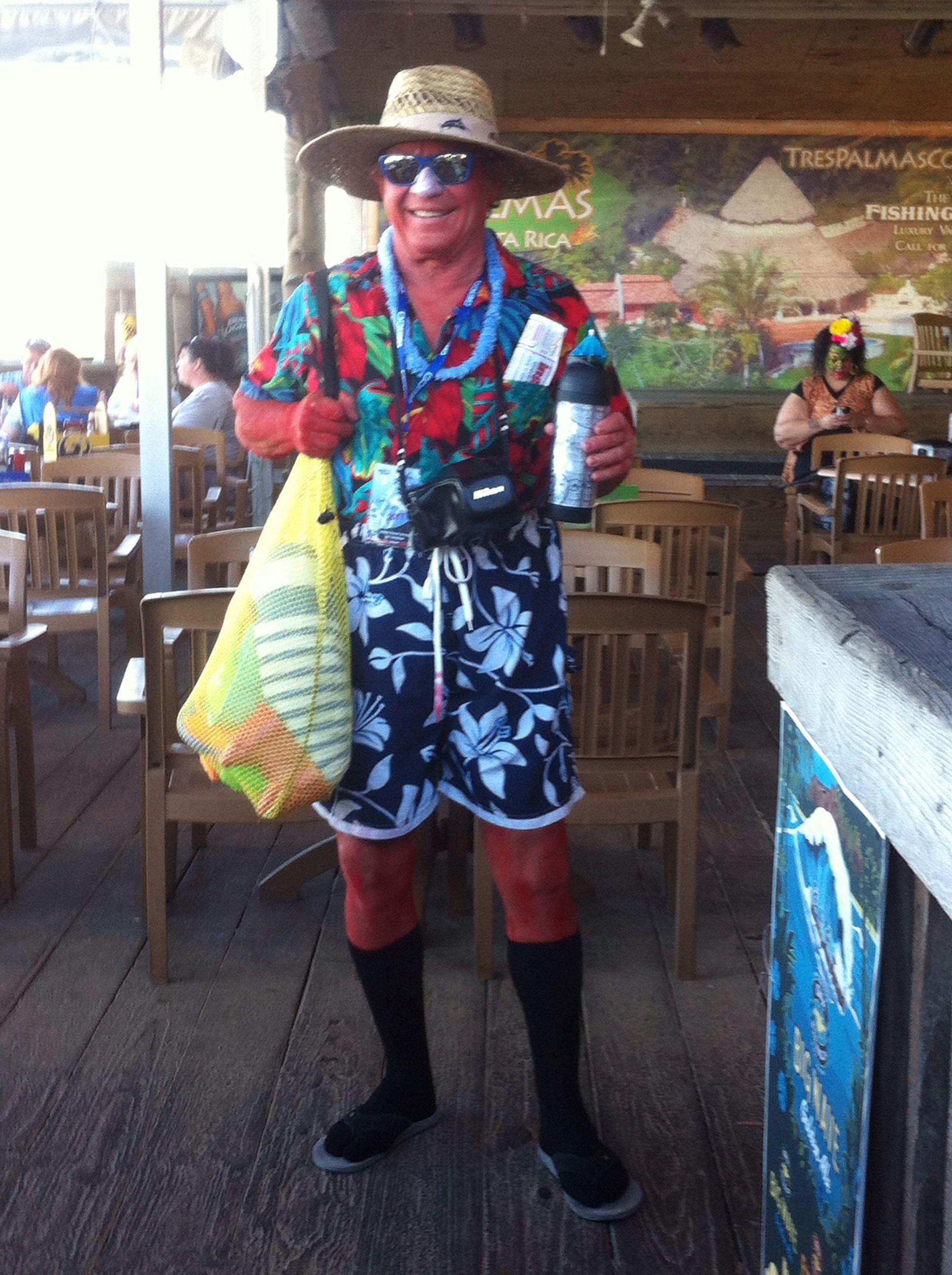346a8ae8115f3 Sunburn tacky tourist Halloween