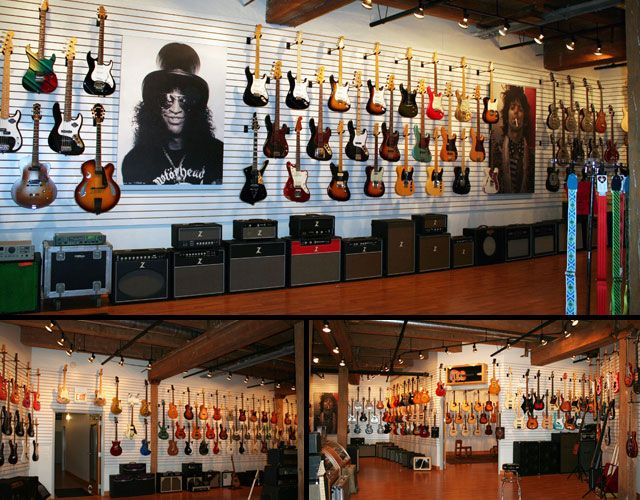 Gallery 20 Coolest Guitar Stores In The Us Volume 1 Music Store Interior Music Store Design Guitar Store