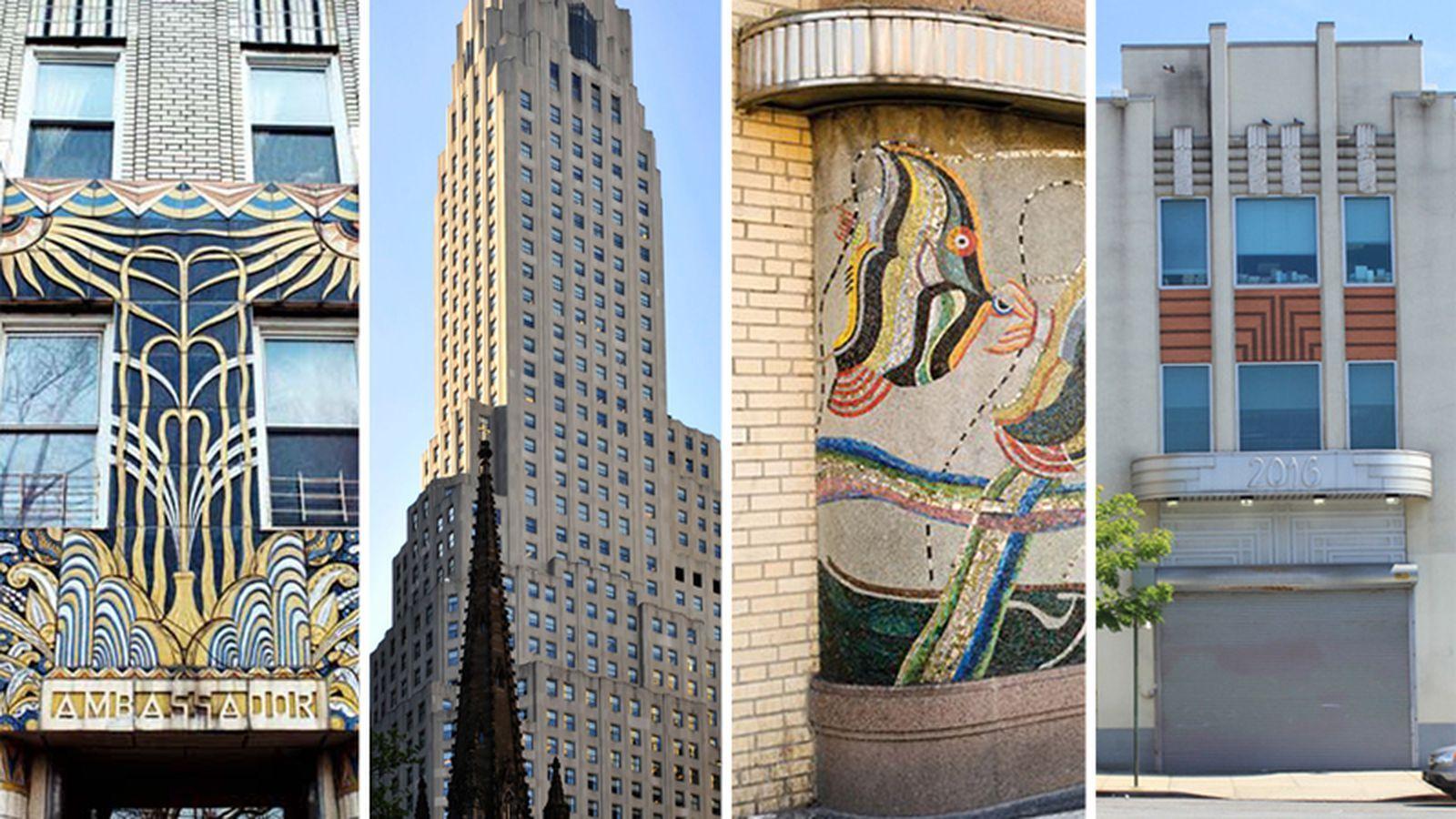19 Of New York City S Hidden Art Deco Gems Mapped Hidden Art Art Deco Architecture Fashion