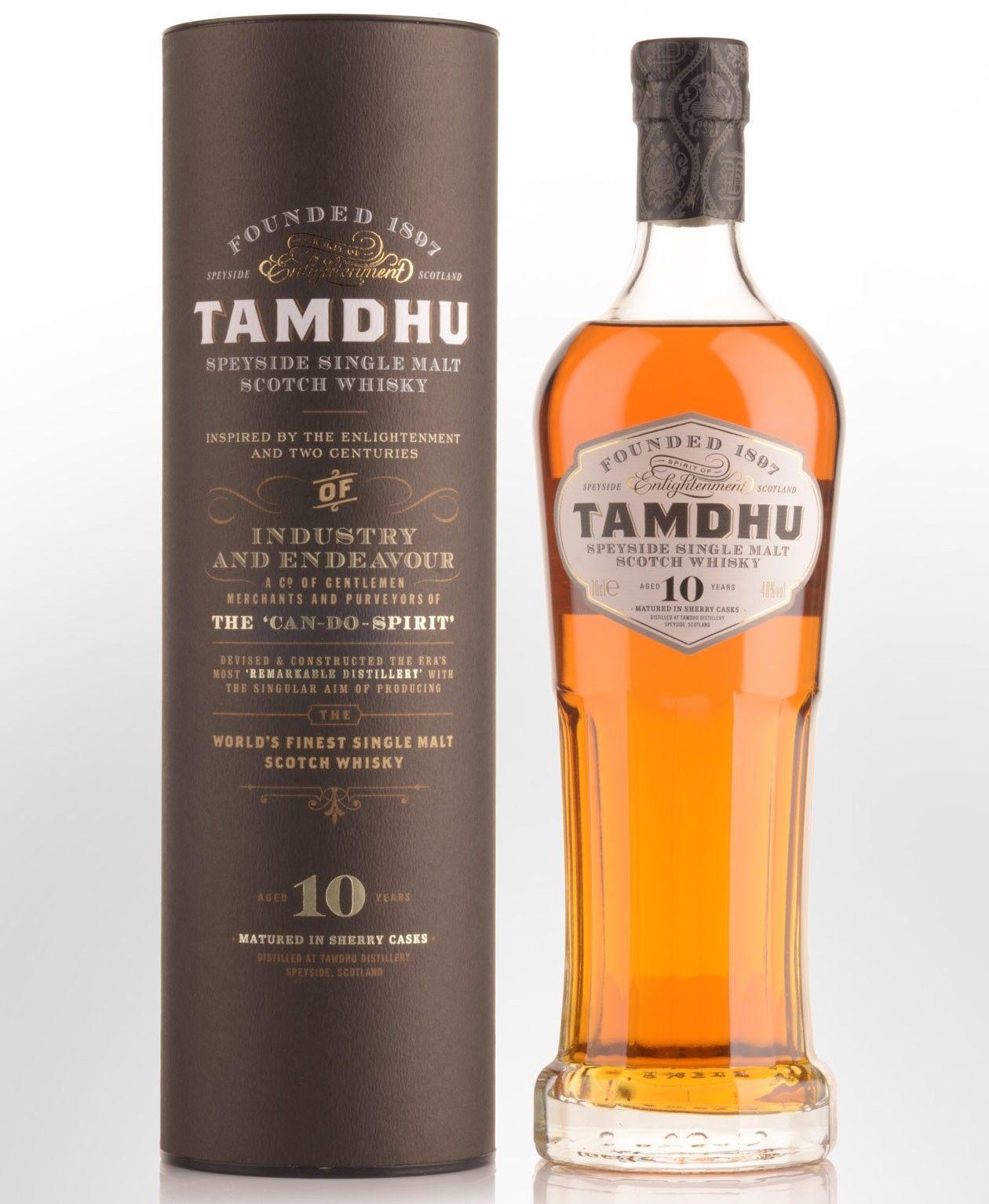 Tamdhu 10 Year Old Single Malt Scotch Whisky 700ml Scotch
