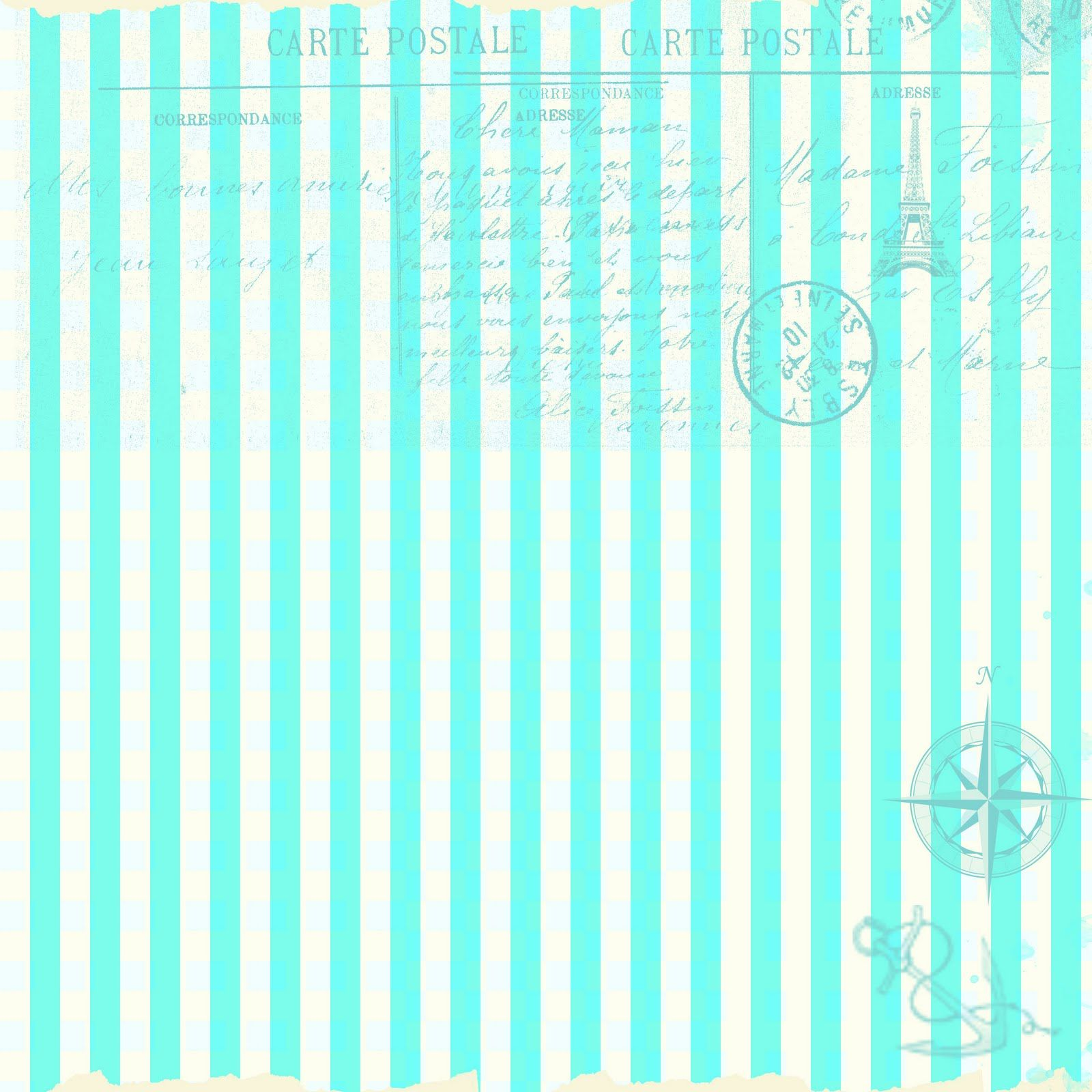 Scrapbook paper and stickers -  Free Vintage Digital Stamps Free Digital Scrapbook Paper Blue