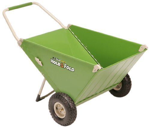 Hold Fold Hnf 12 Versatile Yard Cart By Hold Fold 109 99 The Hold And Fold Versatile Yard Cart Is A Great Altern Yard Cart Wheelbarrow All Terrain Tyres