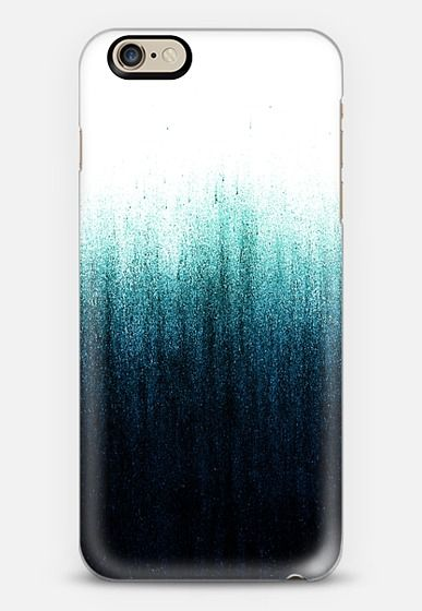 Teal Ombre iPhone 6 case by Caitlin Workman | Casetify
