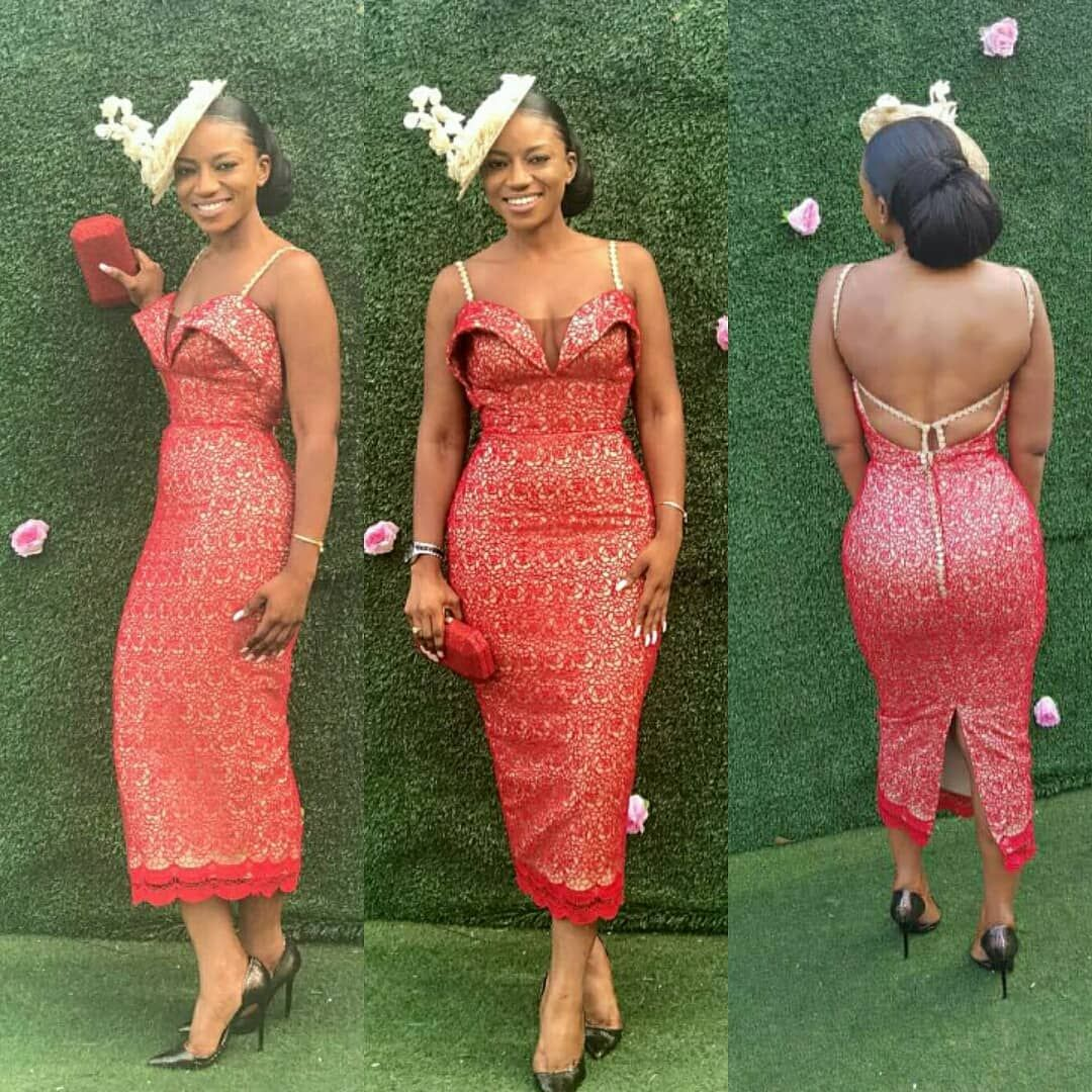 Weddingguest Trendyrene Dress By Jemi Weloveghanaweddings Latest African Fashion Dresses African Fashion Dresses African Lace Dresses