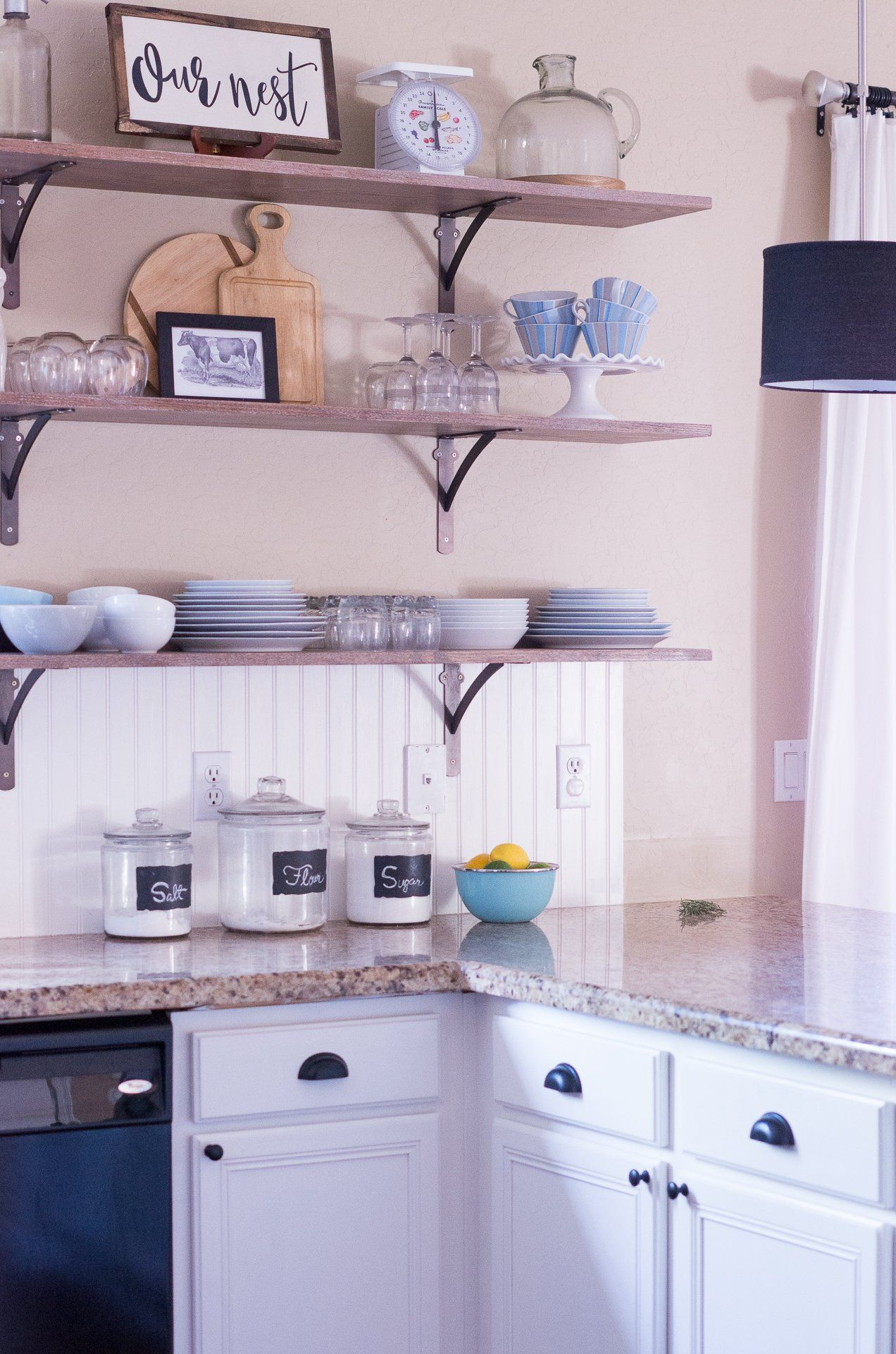 6 creative storage solutions for a kitchen with no upper cabinets in 2020 house design kitchen on farmhouse kitchen no upper cabinets id=32786
