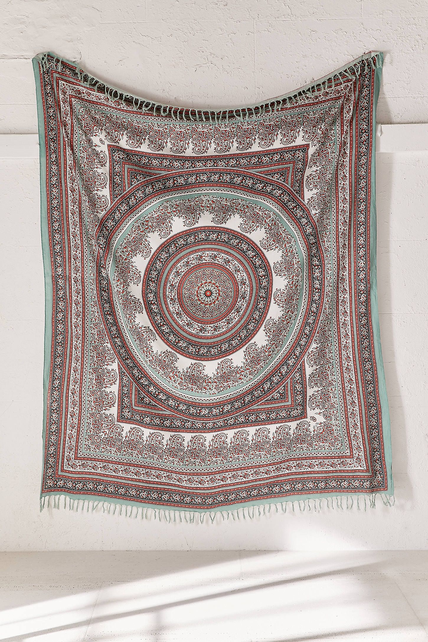 hanging medallion link and bow com wall tapestry purple plum i mandala royalfurnish
