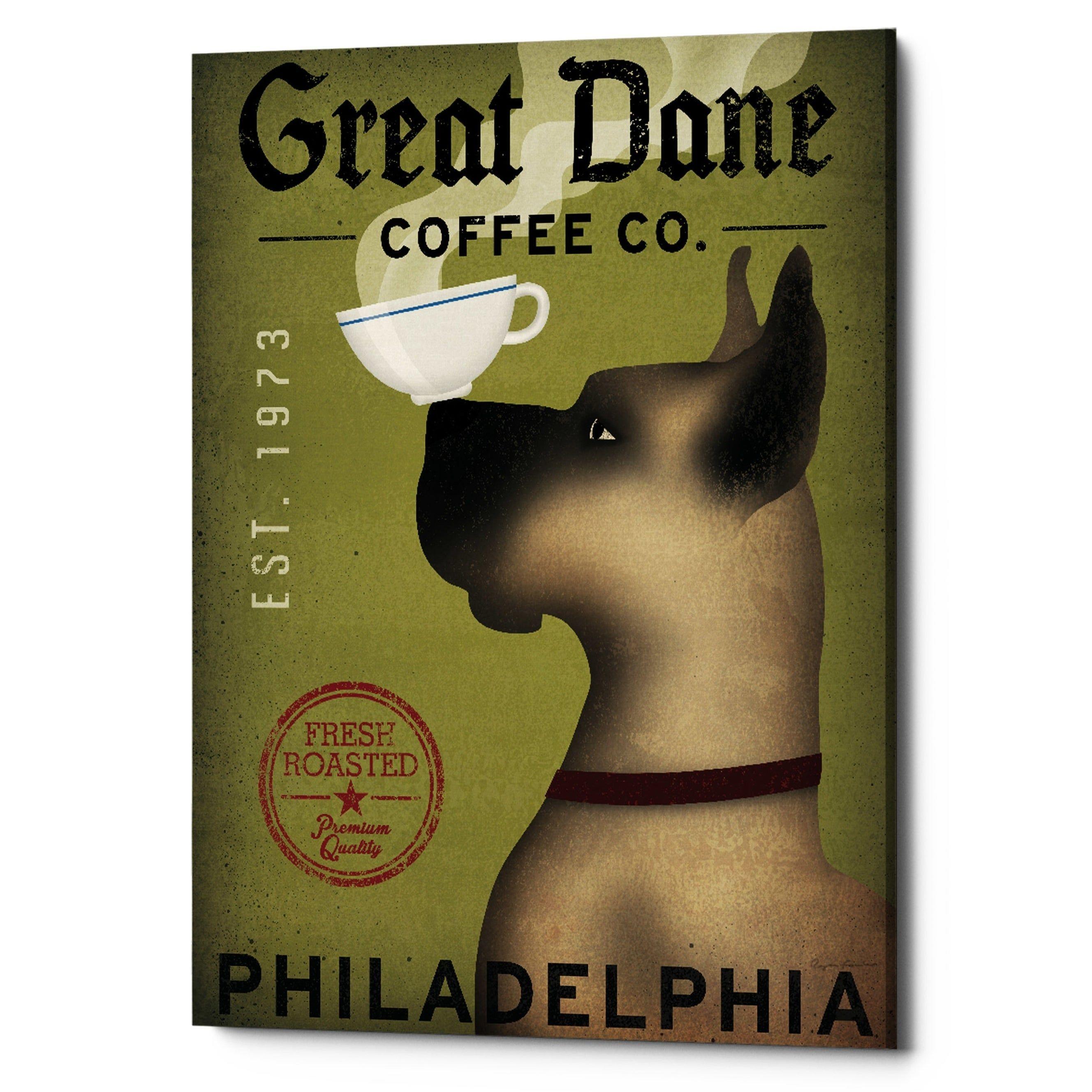 Epic Graffiti Great Dane Coffee Philadelphia By Ryan Fowler