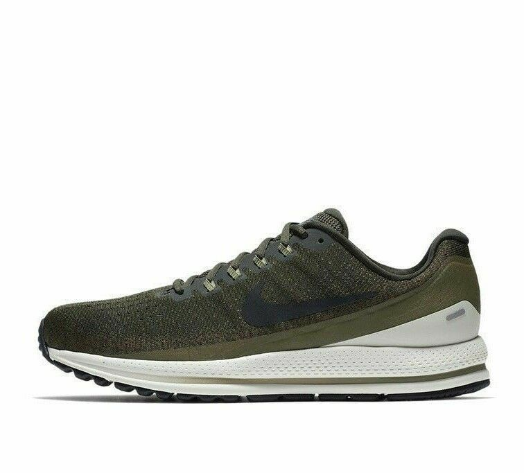 36a493ea5ce0 Nike Air Zoom Vomero 13 Mens Running Shoes 11 Sequoia Black Medium Olive   Nike  RunningShoes