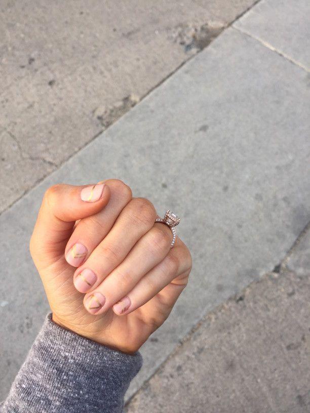 DIY Geometric Manicure