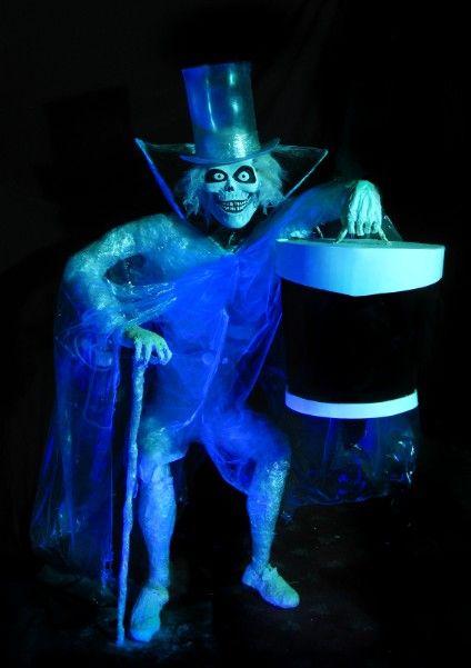 Hatbox Ghost Replica Hatbox Ghost Haunted Mansion Hatbox Ghost Haunted Mansion Halloween
