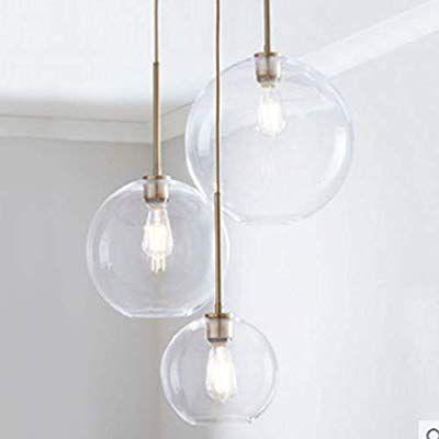 Injuicy tom dixon globe ballon lampe suspensions lustre - Plafonnier salle a manger ...