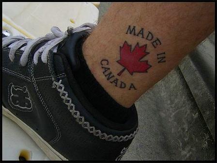Made in canada tattoo tattoo ideas pinterest canada for Irish canadian tattoos