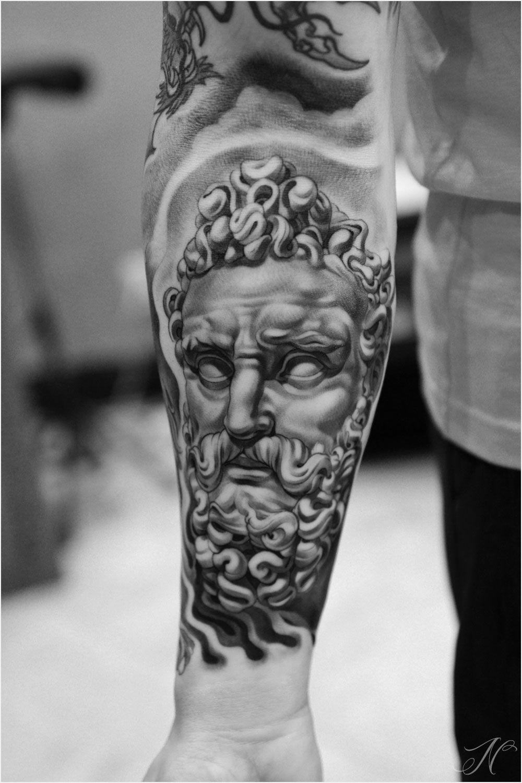 Greek sculpture tattoo the image kid for Greek sculpture tattoo
