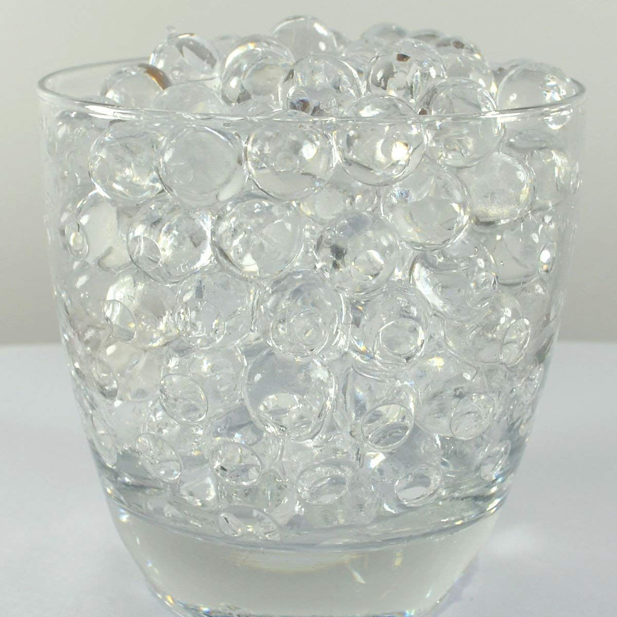 Clear Water Pearls Ball Beads Centerpiece Wedding Tower Vase Filler 1 LB
