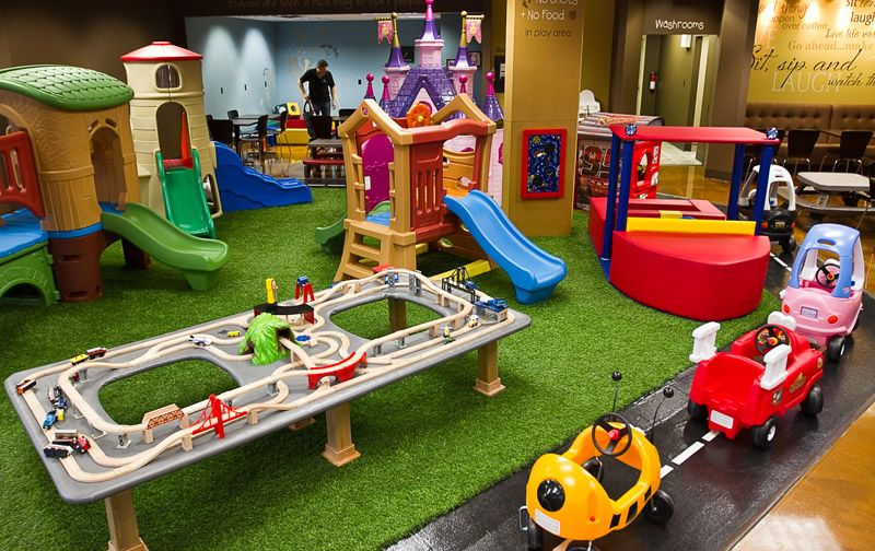 Cafe o 39 play kids playplace playground coffeehouse for Best indoor playground for toddlers