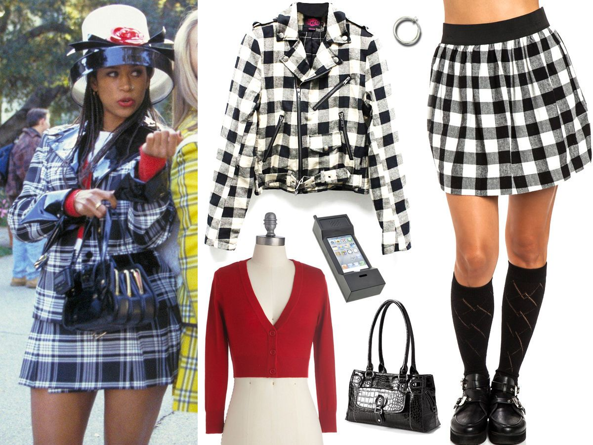 How To Dress Like Cher Dionne And Tai From Clueless This Halloween Clueless Outfits Clueless Costume Clueless Halloween Costume