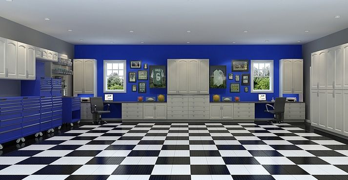 Home owner s guide to garage flooring ideas and options for Garage options