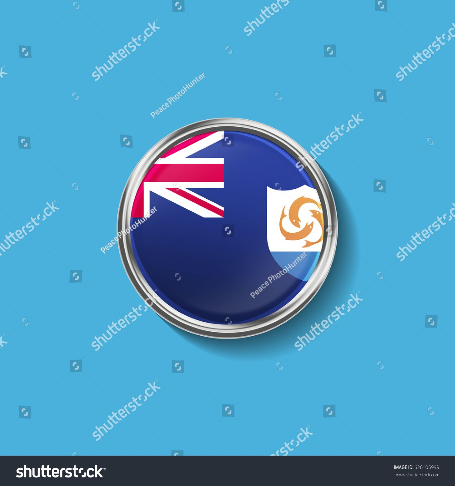 Circle Flag Of Anguilla Sponsored Paid Circle Flag Anguilla In 2020 Business Ppt Bmw Logo Vehicle Logos