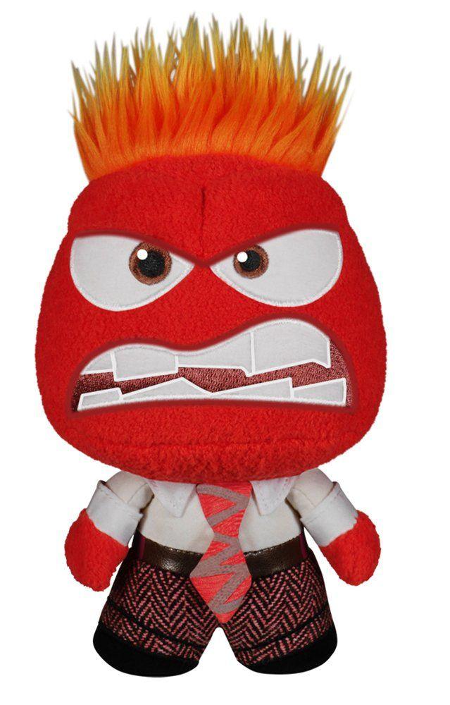 FunKo Fabrikations: Disney/Pixar - Inside Out - Anger Plush