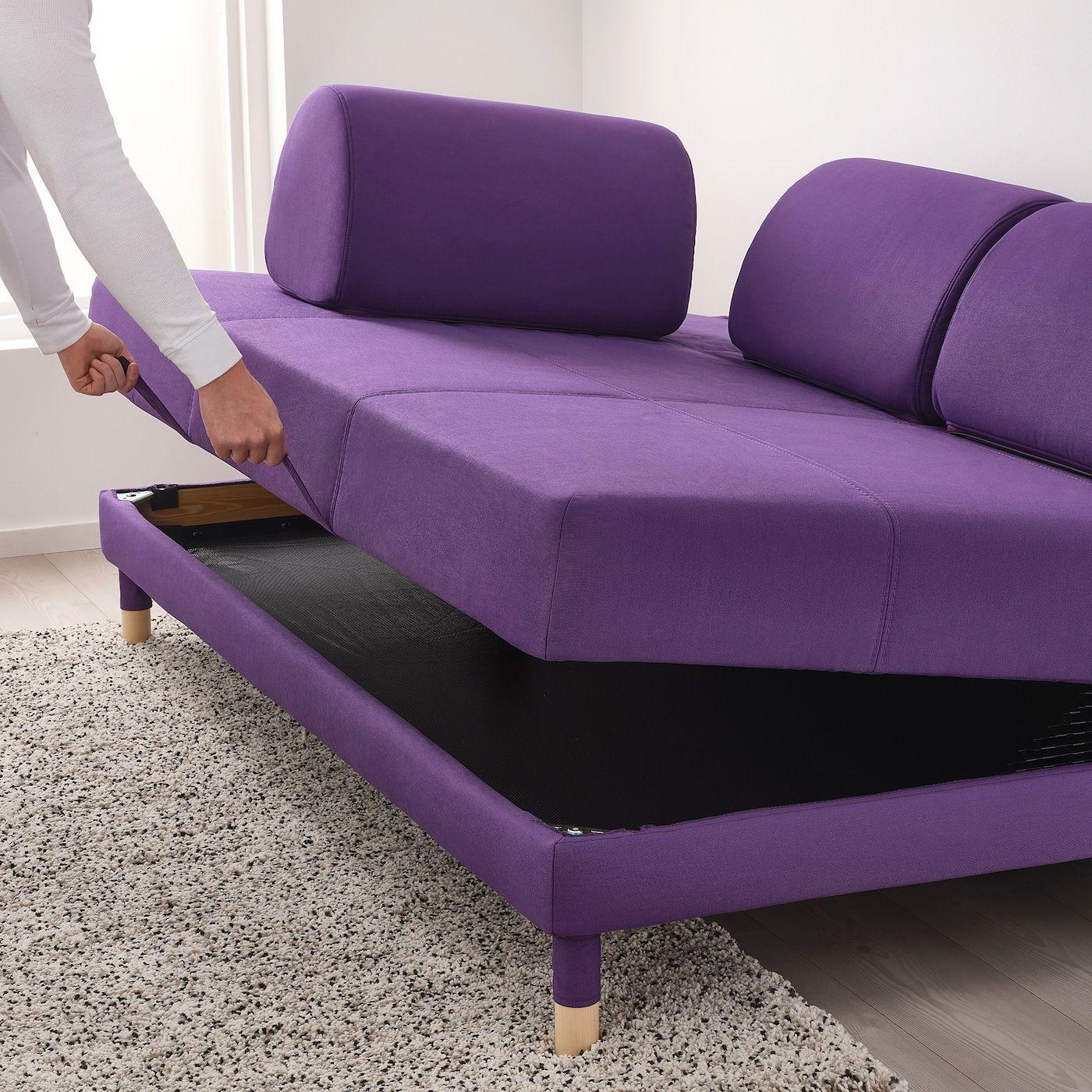 Flottebo Sleeper Sofa Vissle Purple 47 1 4 120 Cm Sleeper Sofa Sofa Sofa Frame